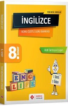 Sonuç Yayınları 8. Sınıf İngilizce Modüler Set