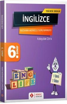 Sonuç Yayınları 6. Sınıf İngilizce Modüler Set