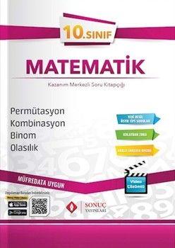 Sonuç Yayınları 10. Sınıf Permütasyon Kombinasyon Binom Olasılık