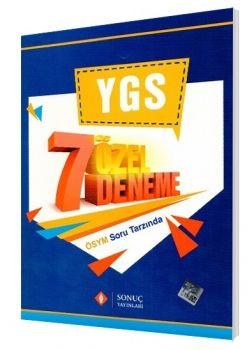 Sonuç Yayınları YGS 7 Özel Deneme