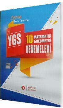 Sonuç Yayınları YGS Matematik Geometri Denemeleri 10 lu
