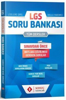 Sonuç Yayınları LGS Tüm Dersler Soru Bankası