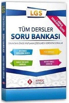 Sonuç Yayınları 8. Sınıf LGS 1. Dönem Tüm Dersler Soru Bankası