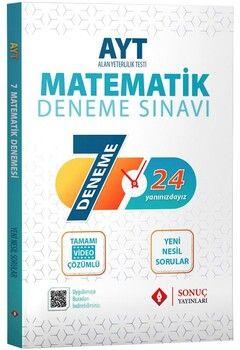 Sonuç Yayınları AYT Matematik Özel 7 Deneme