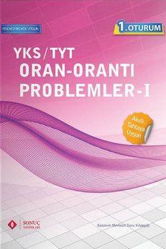 Sonuç Yayınları YKS 1. Oturum TYT Oran Orantı Problemler 1