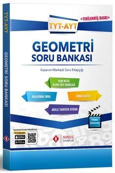 Sonuç Yayınları TYT AYT Geometri Soru Bankası
