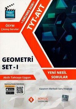 Sonuç Yayınları TYT AYT Geometri Set 1 Yenilenmiş Baskı