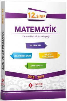 Sonuç Yayınları 12. Sınıf Matematik Kazanım Merkezli Soru Bankası Seti