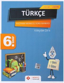 Sonuç Yayınları 6. Sınıf Türkçe Kazanım Merkezli Soru Bankası Seti