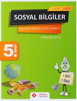 Sonuç Yayınları 5. Sınıf Fen Bilimleri Konu Özetli Soru Bankası Seti
