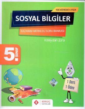 Sonuç Yayınları 5. Sınıf Sosyal Bilgiler Kazanım Merkezli Soru Bankası