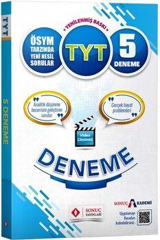 Sonuç Yayınları TYT Video Çözümlü 5 Deneme
