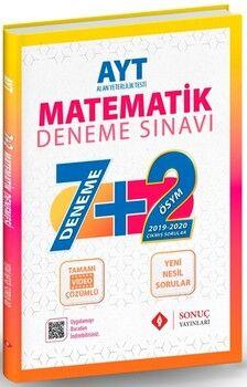 Sonuç Yayınları AYT Matematik 7+2 Deneme