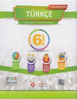 Sonuç Yayınları 6. Sınıf Türkçe Kazanım Merkezli Soru Kitapçığı Seti Yenilenmiş Baskı