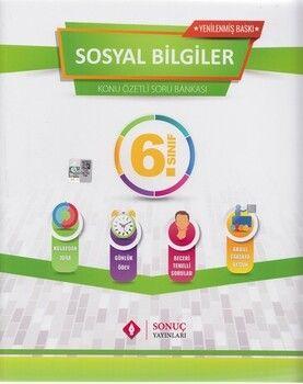 Sonuç Yayınları 6. Sınıf Sosyal Bilgiler Kazanım Merkezli Soru Kitapçığı Seti Yenilenmiş Baskı