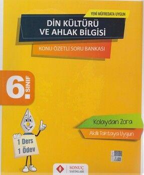 Sonuç Yayınları 6. Sınıf Din Kültürü ve Ahlak Bilgisi Kazanım Merkezli Soru Kitapçığı Seti Yenilenmiş Baskı