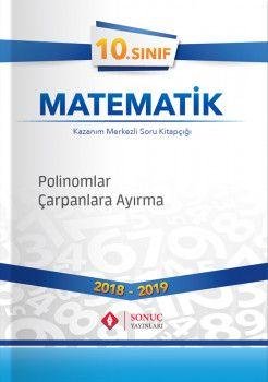 Sonuç Yayınları 10. Sınıf Matematik Polinomlar Çarpanlara Ayırma