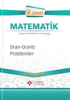 Sonuç Yayınları 9. Sınıf Matematik Oran Orantı Problemler  ?