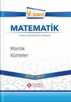 Sonuç Yayınları 9. Sınıf Matematik Mantık Kümeler