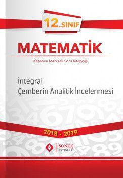 Sonuç Yayınları 12. Sınıf Matematik İntegral Çemberin Analitik İncelenmesi
