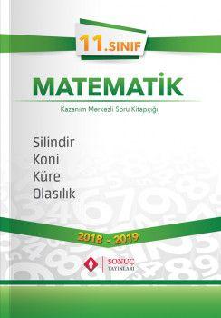 Sonuç Yayınları 11. Sınıf Matematik Silindir Koni Küre Olasılık