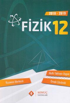 Sonuç Yayınları 12. Sınıf Fizik Kazanım Merkezli Soru Bankası Seti