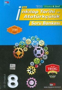 Soru Bankası Merkezi Yayınları 8. Sınıf TEOG T.C. İnkılap Tarihi ve Atatürkçülük Soru Bankası