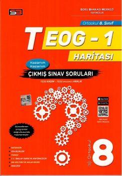 Soru Bankası Merkezi Yayınları 8. Sınıf TEOG 1 Haritası Çıkmış Sınav Soruları