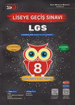 Soru Bankası Merkezi 8. Sınıf LGS 8 Deneme Sınavı