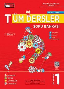 Soru Bankası Merkezi Yayınları 1. Sınıf Tüm Dersler Soru Bankası