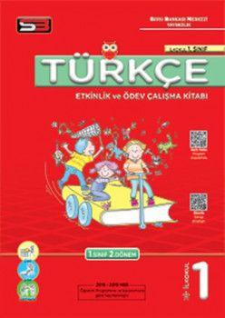 Soru Bankası Merkezi Yayınları 1. Sınıf Türkçe Etkinlik ve Ödev Çalışma KitabıSoru Bankası