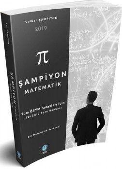 Soru Bankası Net Yayınları 2019 Tüm ÖSYM Sınavları İçin  Şampiyon Matematik Çözümlü Soru Bankası