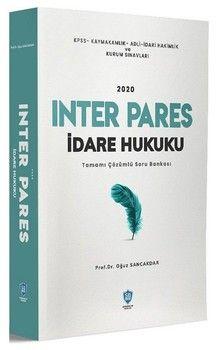 Soru Bankası Net Yayınları 2020 INTER PARES İdare Hukuku Soru Bankası