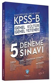 Soru Bankası Net Yayınları KPSS B Genel Kültür Genel Yetenek 5 Deneme Çözümlü