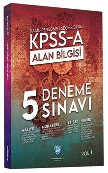 Soru Bankası Net Yayınları KPSS A Grubu Alan Bilgisi 5 Deneme Çözümlü