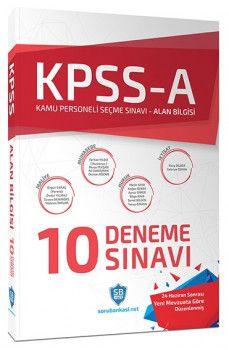 Soru Bankası Net Yayınları KPSS A Grubu Çözümlü 10 Deneme Sınavı