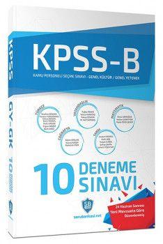 Soru Bankası Net Yayınları KPSS Genel Yetenek Genel Kültür Çözümlü 10 Deneme Sınavı