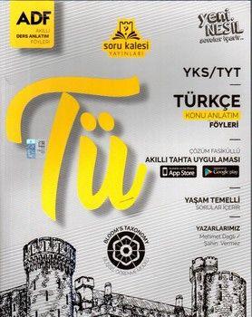 Soru Kalesi Yayınları TYT Türkçe Çek Kopart Akıllı Konu Anlatım Föyü
