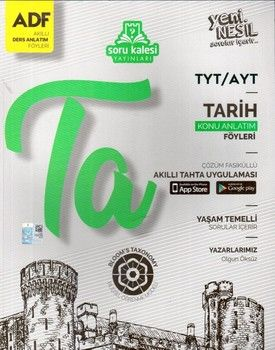 Soru Kalesi Yayınları TYT AYT Tarih Çek Kopart Akıllı Konu Anlatım Föyü
