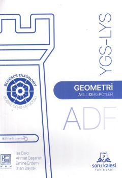 Soru Kalesi Yayınları YGS LYS Geometri Akıllı Ders Föyleri