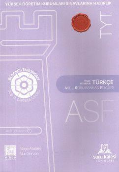 Soru Kalesi YKS 1. Oturum TYT Türkçe Akıllı Soru Bankası Föyleri ASF
