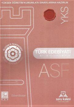 Soru Kalesi YKS 2. Oturum Türk Edebiyatı Akıllı Soru Bankası Föyleri ASF
