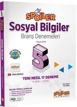 Spoiler Yayınları 5. Sınıf Sosyal Bilgiler Branş Denemeleri