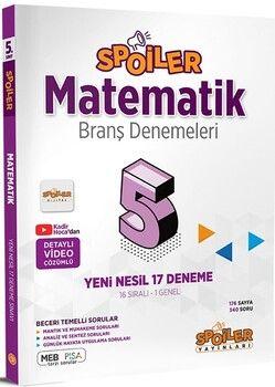 Spoiler Yayınları 5. Sınıf Matematik Branş Denemeleri