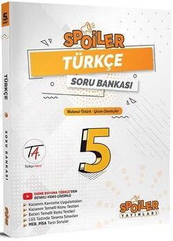 Spoiler Yayınları 5. Sınıf Türkçe Soru Bankası