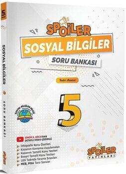 Spoiler Yayınları 5. Sınıf Sosyal Bilgiler Soru Bankası