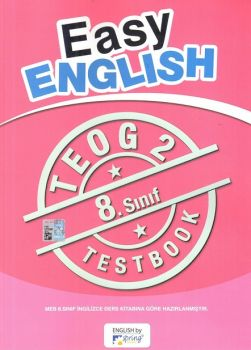 Spring Publication 8. Sınıf TEOG 2 Easy English Test Book