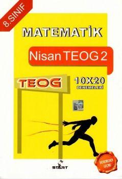 Start Özel Eğitim Yayınları 8. Sınıf TEOG 2 Matematik 10x20 Deneme