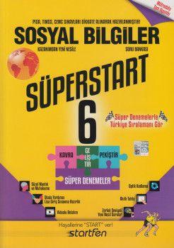 Startfen Yayınları 6. Sınıf Sosyal Bilgiler Süperstart Soru Bankası