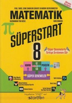 Startfen Yayınları 8. Sınıf Matematik Süperstart Soru Bankası